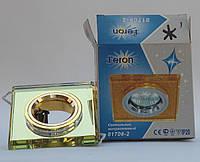 Встраиваемый светильник Feron 8170 (цвет корпуса желтый-золото), фото 1