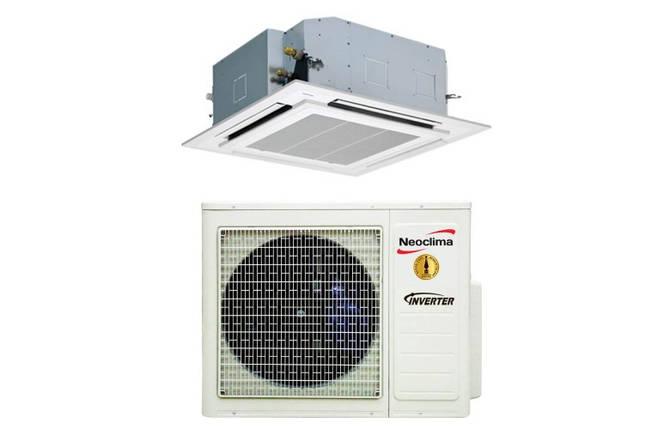 Сплит-система кассетного типа Neoclima NTSI18EH1/NUI18EH1/NTP-12-18AHe, фото 2