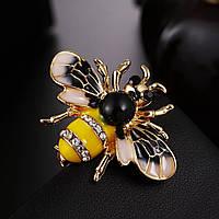 """Шикарная брошь """"Пчела"""", фото 1"""