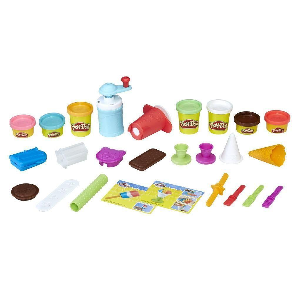 Набор Play-Doh Фабрика мороженого, Хасбро (E0042)
