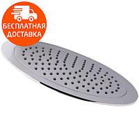 Лейка потолочная круглая 40 см Potato P103-40 хром