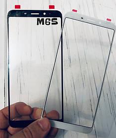 Стекло дисплея для Meizu M6S черное (для переклейки)