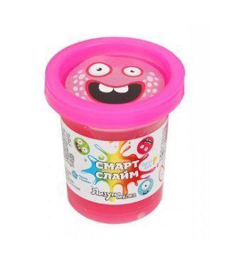 Антистресслизун жвачка для рук розовый Genio Kids-Art (SLI01-4)