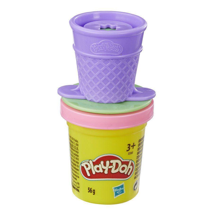Hабор пластилина Play-Doh баночка с фигуркой на крышке (E3365-2)