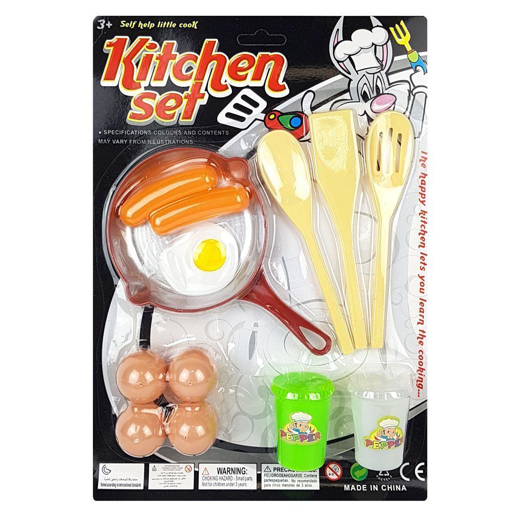 """Игровой набор Maya Toys """"Набор повара"""" яичница (792-1)"""