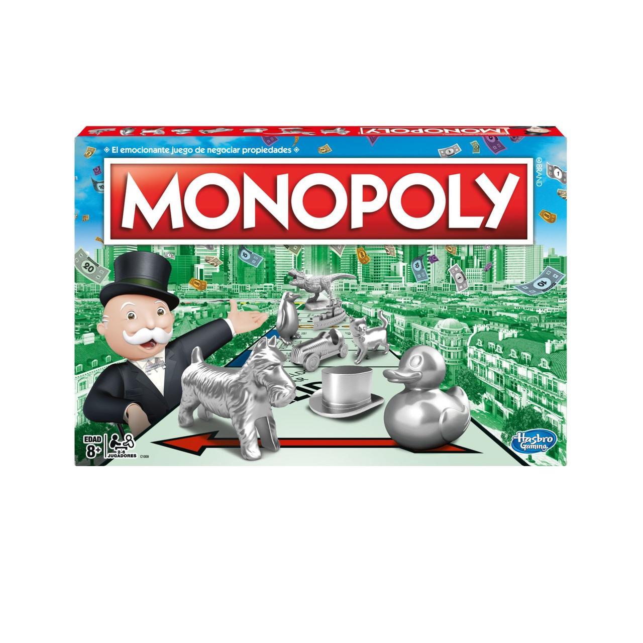 Настольная игра Hasbro Monopoly Классическая монополия обновленная (C1009_121)