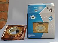 Светильник Feron 8150 MR16 (цвет корпуса коричневый-золото), фото 1