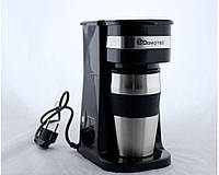 Кофеварка + термо стакан MS 0709  220V
