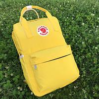Рюкзак Fjallraven Kanken Classic канкен желтый, фото 1