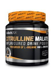 Аминокислоты цитруллин Biotech Citrulline Malate 300g (Green Apple)