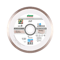 Алмазный круг Distar 1A1R Hard Ceramics 350*2.2*10*32