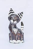 """Кот """"Фауст"""",объемный ,высота 30см"""