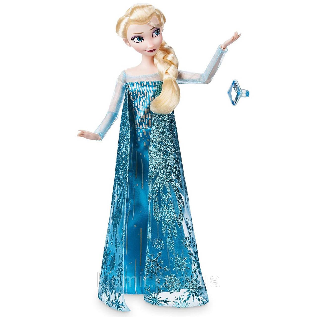 Дісней принцеса Ельза Холодне серце з кільцем Elsa Frozen Disney