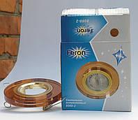 Светильник Feron 8060 MR16 (цвет корпуса коричневый-золото)