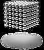 Неокуб Neocube 5мм нікель 216 кульок. Гарний оригінальний подарунок другові, хлопцеві. подарунок, фото 8