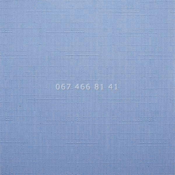 Тканевые ролеты Besta Uni с П-образными направляющими Len T Light Blue 2074