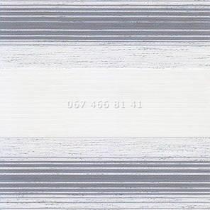 Тканевые ролеты Besta Uni с П-образными направляющими День-Ночь BH Grey 136-5, фото 2