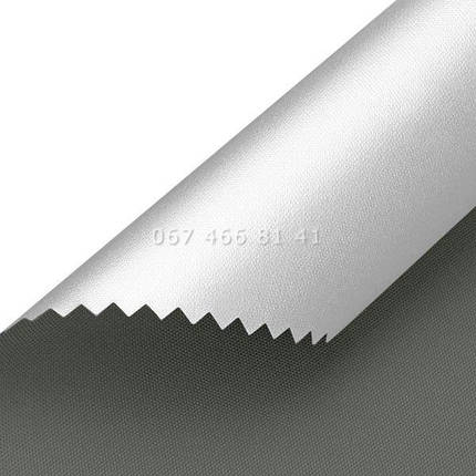 Тканевые ролеты Besta Mini Silver BlackOut Graphite 061, фото 2