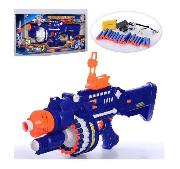 Іграшкова зброя Автомат SB250 м'які кулі-присоски, окуляри