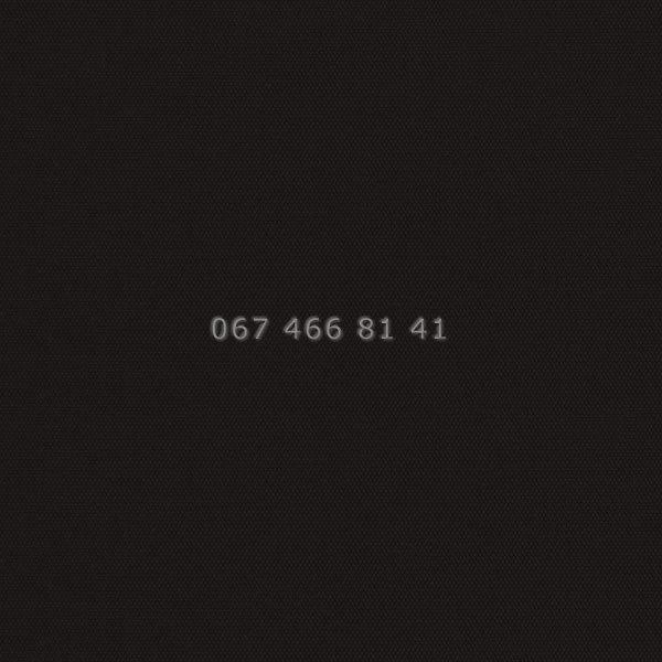Тканевые ролеты Besta Uni с плоскими направляющими Berlin Black 1320