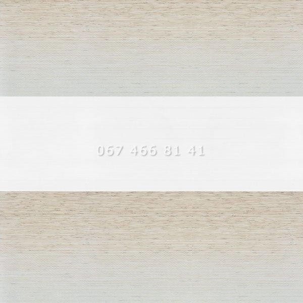 Тканевые ролеты Besta Mini День-Ночь BH BlackOut Silver 91