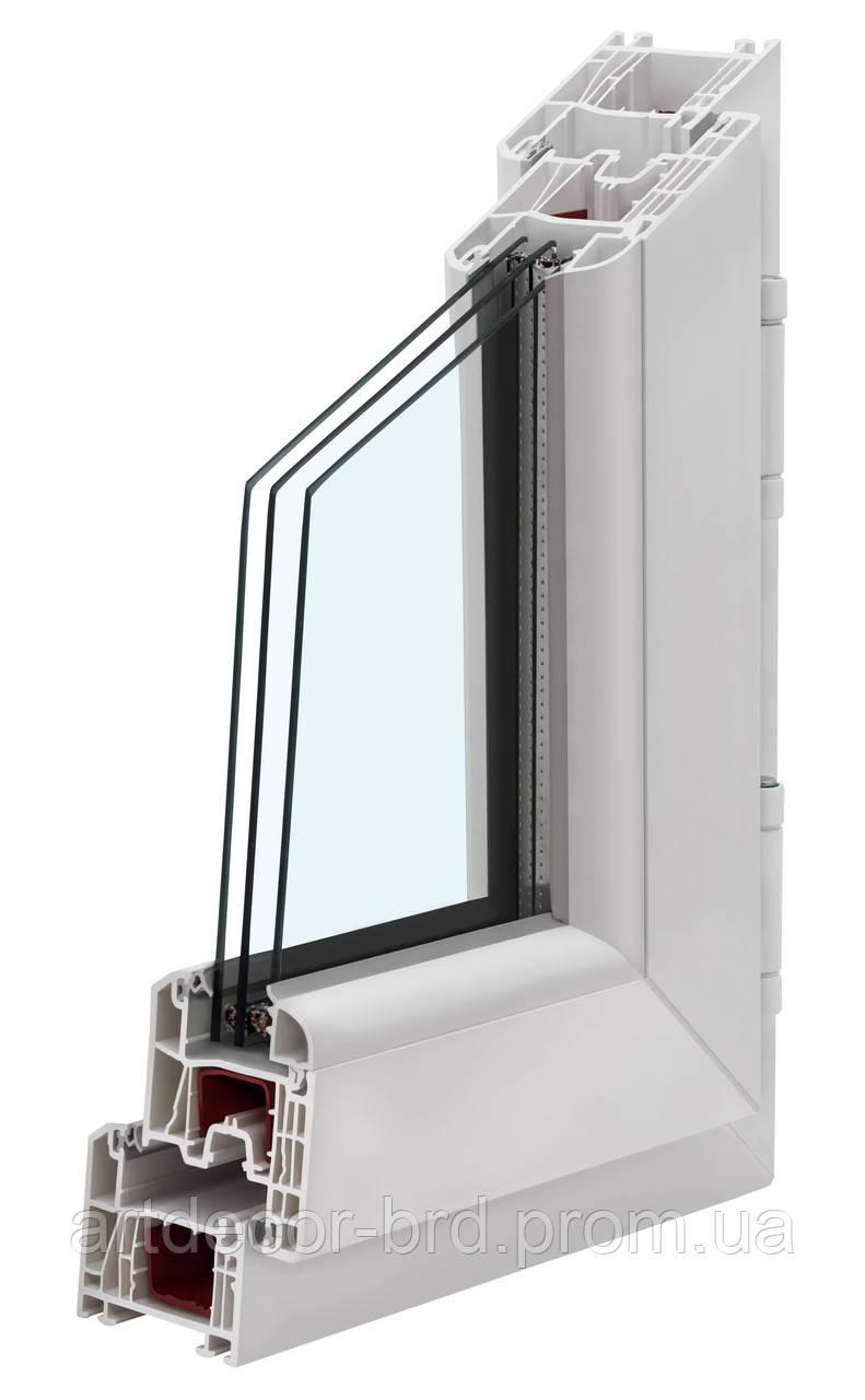 Немецкий профиль KBE 70 mm ST