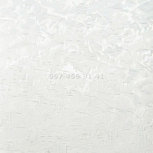 Тканевые ролеты Besta Uni с П-образными направляющими Miracle T White 01