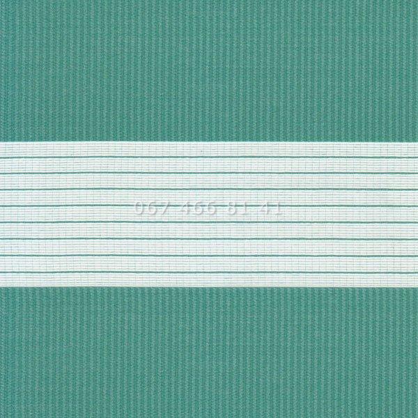 Тканевые ролеты Besta Uni с П-образными направляющими День-Ночь BH Aquamarine 1208