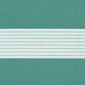 Тканевые ролеты Besta Uni с П-образными направляющими День-Ночь BH Aquamarine 1208, фото 2