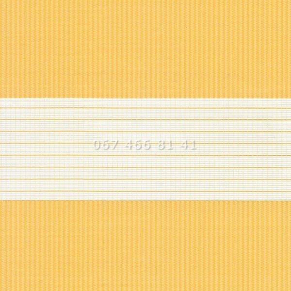 Тканевые ролеты Besta Uni с плоскими направляющими День-Ночь BH Yolk 1803