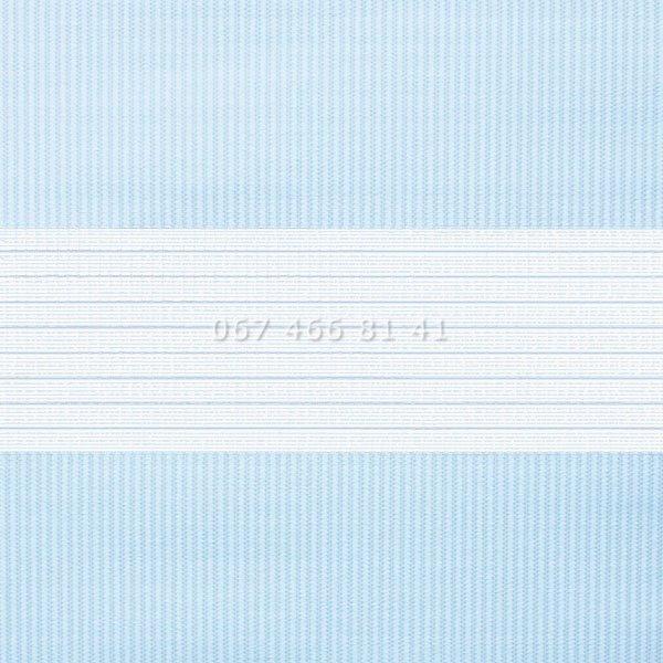 Тканевые ролеты Besta Uni с П-образными направляющими День-Ночь BH Blue 04