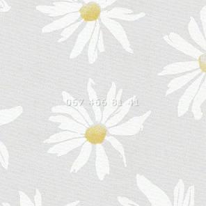Тканевые ролеты Besta Uni с плоскими направляющими Camilla White, фото 2