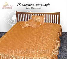 Покривало з декоративними подушками і подушкою сердечком, фото 2