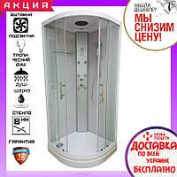 Гидромассажный паровой душевой бокс 90х90 см Orans SR-86150S