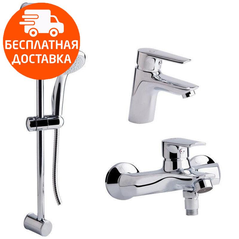 Набор смесителей 3 в 1 Q-tap Set CRM 35-311 хром