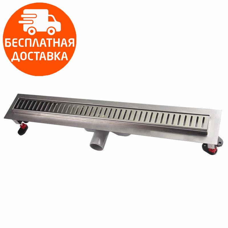 Линейный трап с решеткой 900х960 мм Q-tap QT900960CRM