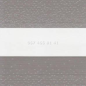 Тканевые ролеты Besta Uni с плоскими направляющими День-Ночь BH Grey 115-5, фото 2