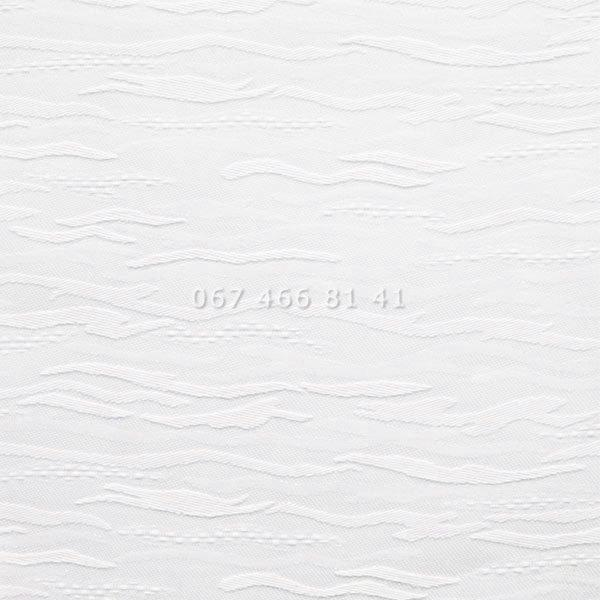 Тканевые ролеты Besta Uni с плоскими направляющими Lazur T White 2018
