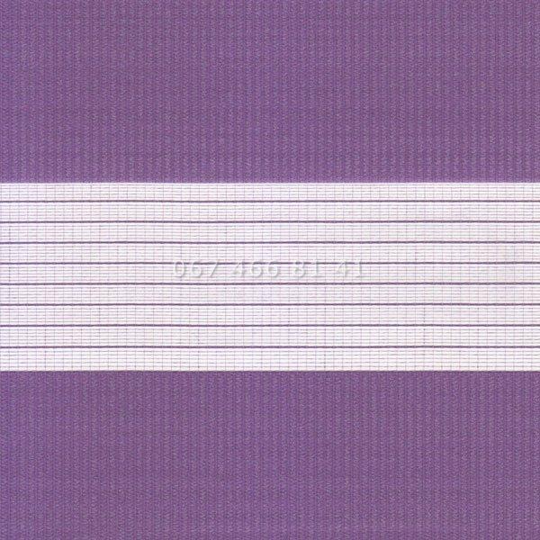 Тканевые ролеты Besta Uni с плоскими направляющими День-Ночь BH Violet 09-9