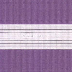 Тканевые ролеты Besta Uni с плоскими направляющими День-Ночь BH Violet 09-9, фото 2