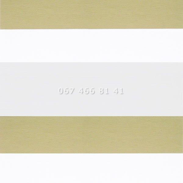 Тканевые ролеты Besta Uni с П-образными направляющими День-Ночь BH Beige 501