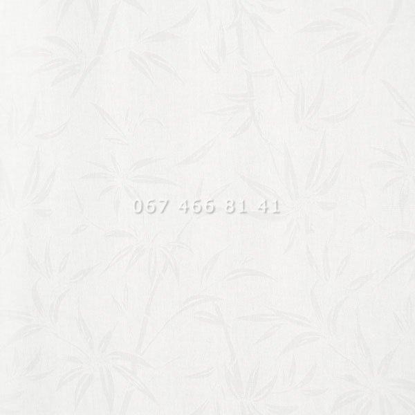 Тканевые ролеты Besta Uni с плоскими направляющими Bamboo White
