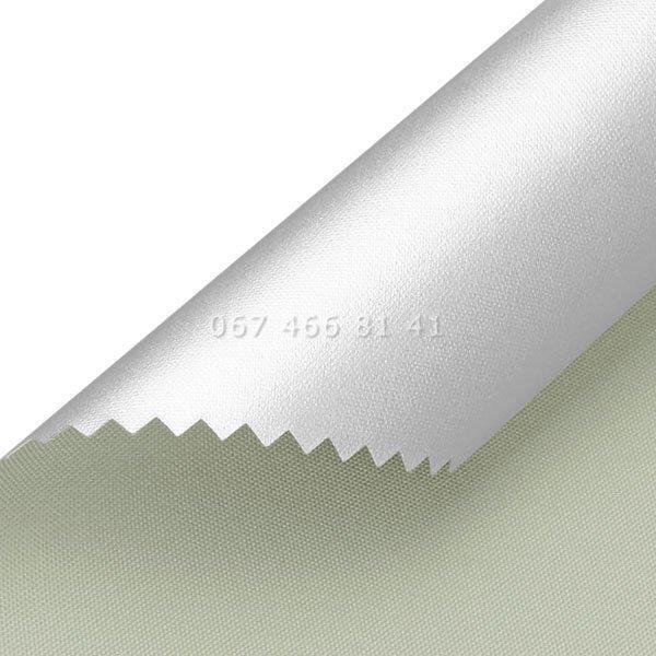 Тканевые ролеты Besta Uni с П-образными направляющими Silver BlackOut Grey 054