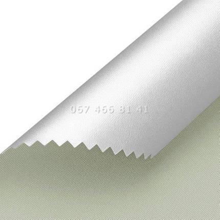Тканевые ролеты Besta Uni с П-образными направляющими Silver BlackOut Grey 054, фото 2