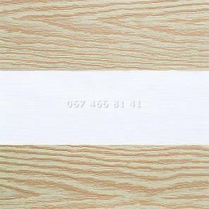 Тканевые ролеты Besta Uni с П-образными направляющими День-Ночь BH Copper 209, фото 2