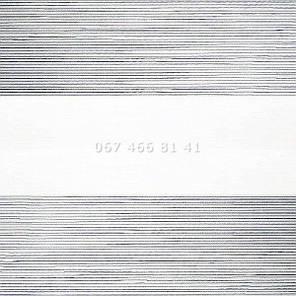 Тканевые ролеты Besta Uni с плоскими направляющими День-Ночь BH Zebra 104, фото 2