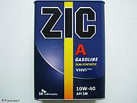 Моторное масло полусинтетика ZIC(Зик) A 10W-40 4л