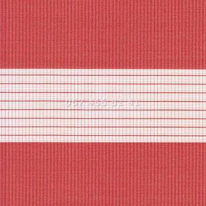 Тканевые ролеты Besta Uni с плоскими направляющими День-Ночь BH Red 1804, фото 2