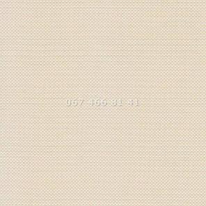 Тканевые ролеты Besta Uni с П-образными направляющими Screen White-Beige 02, фото 2