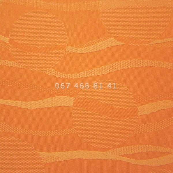 Тканевые ролеты Besta Uni с плоскими направляющими Sea Orange 2232